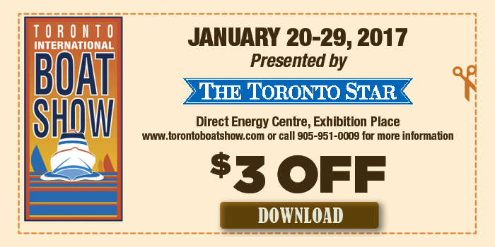 Coupons for toronto boat show