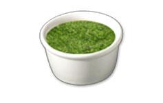 Pesto topping icon