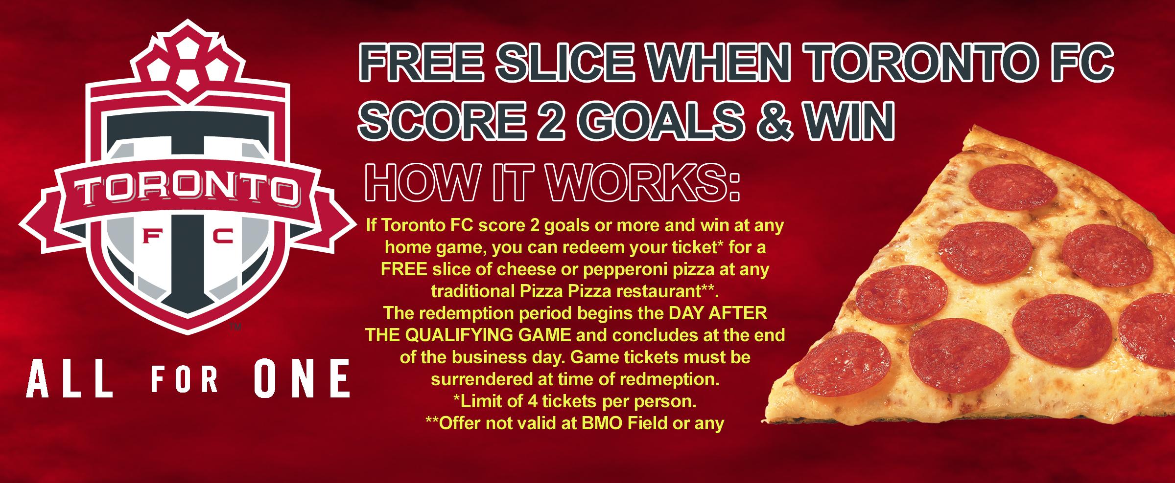 Toronto FC Score & Win Promo image contest banner