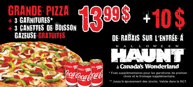 Halloween Haunt à Canada's Wonderland image contest banner