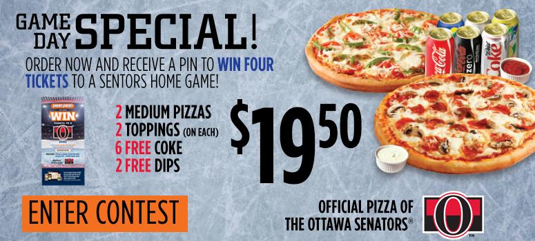 Ottawa Senators Contest image contest banner