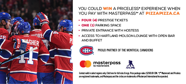 "MASTERPASS™ ""Win a Priceless Experience"" Contest image contest banner"