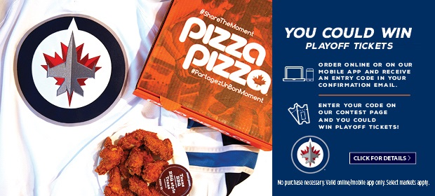 You Could Win a Pair of Tickets to a WINNIPEG JETS Home Playoff Game! image contest banner