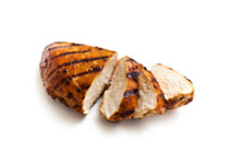 Poulet grillé topping icon
