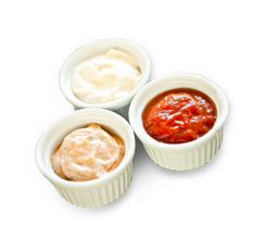 Sauces et pates topping icon