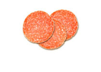New York style pepperoni topping icon