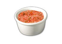 Sauce bruschetta topping icon