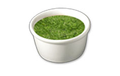 Pesto topping icon