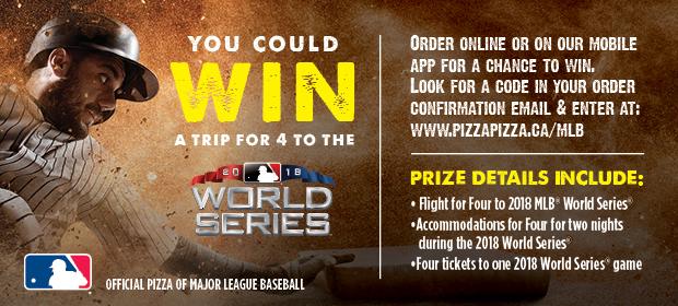 MLB World Series Contest image contest banner