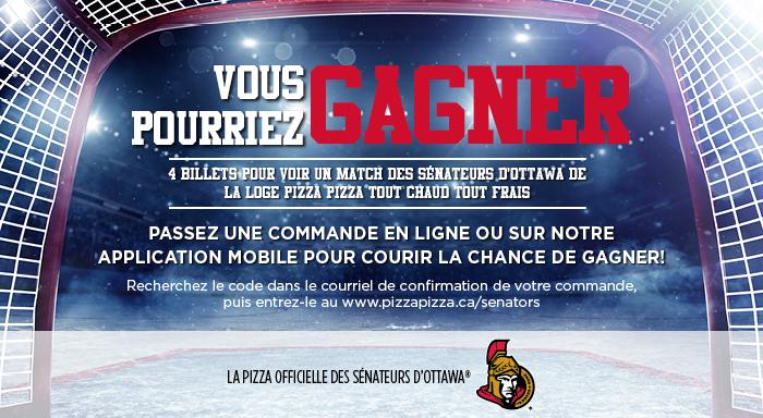 Concours des Sénateurs d'Ottawa image contest banner