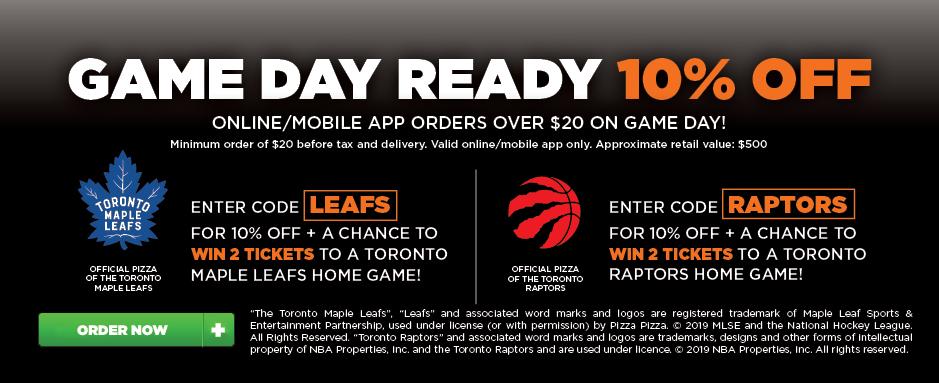 Leafs & Raptors image contest banner