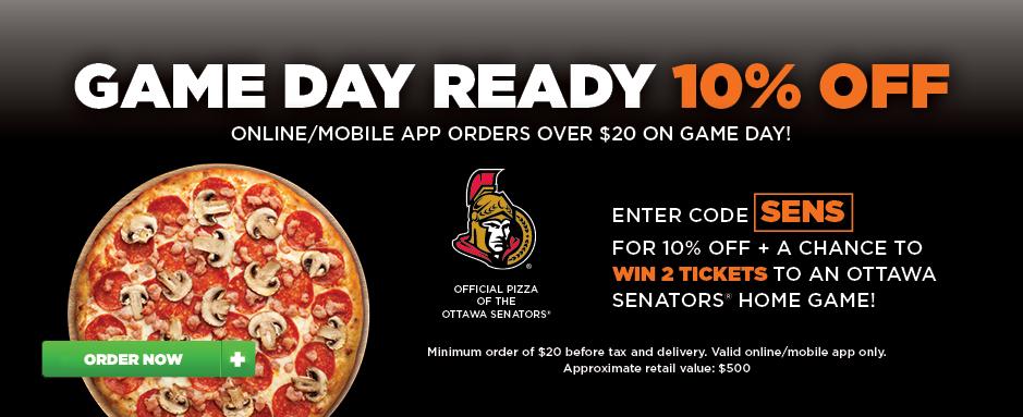 Ottawa Senators image contest banner